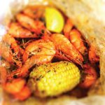 Image of shrimp and corn