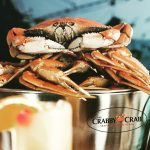 Image of a crab in bucket