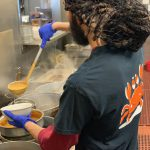 Image of kitchen staff