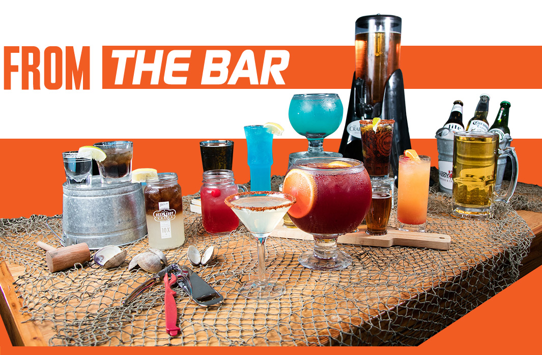 Image of drinks from bar