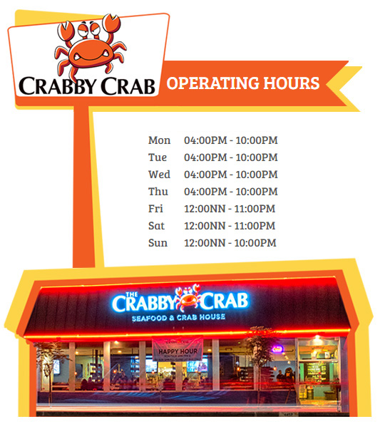 Image of restaurant opening times