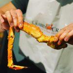 Image of long crab leg